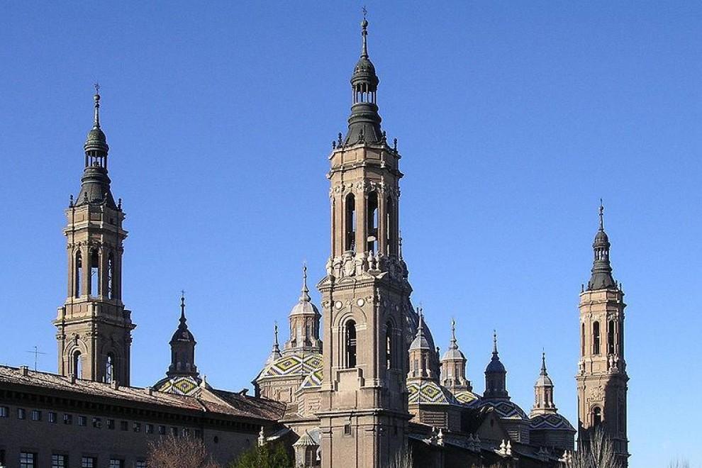 Catedral-basílica de Nuestra Señora del Pilar de Zaragoza. /Wikipedia