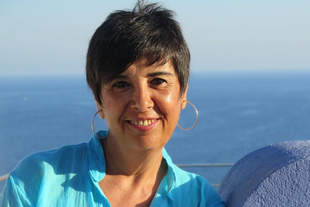 La periodista Nieves Concostrina, autora de 'Pretérito imperfecto', habla sobre el rey Juan Carlos, la monarquía y la Iglesia en España. / JESÚS POZO