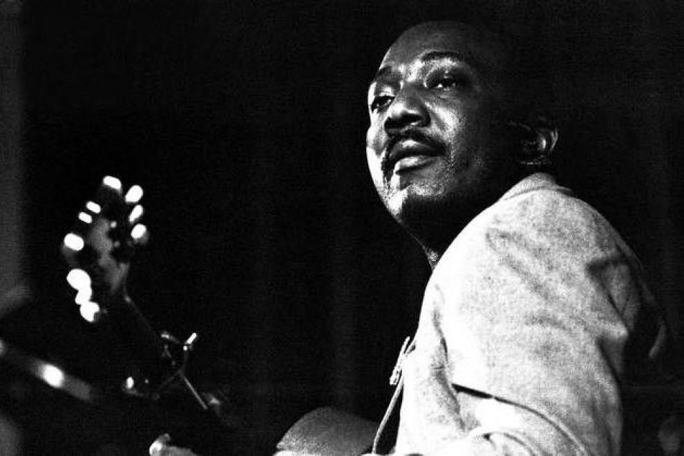 El bluesman J.B. Lenoir, autor de la canción 'Eisenhower Blues'.