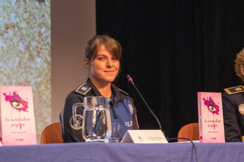 Noelia Colmenarejo presenta su libro 'Un currículum perfecto'. - Cedida