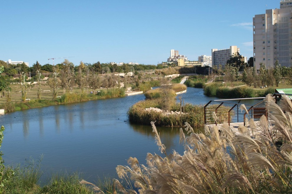 El parque urbano de La Marjal