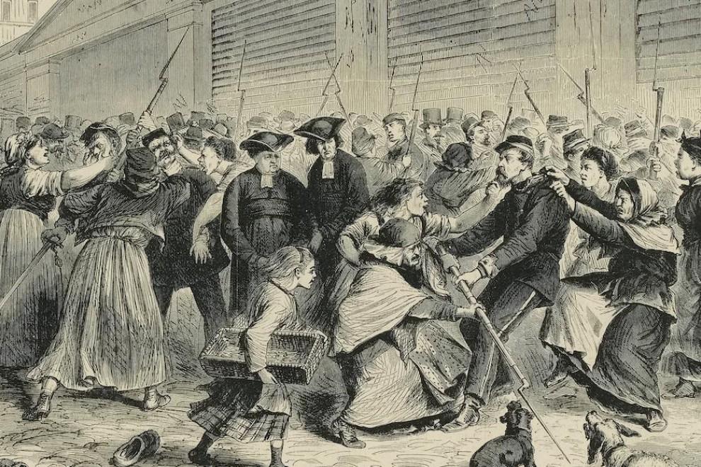 Mujeres de la Comuna