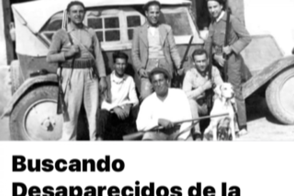 Presentación del grupo 'Buscando desaparecidos de la guerra civil española'.