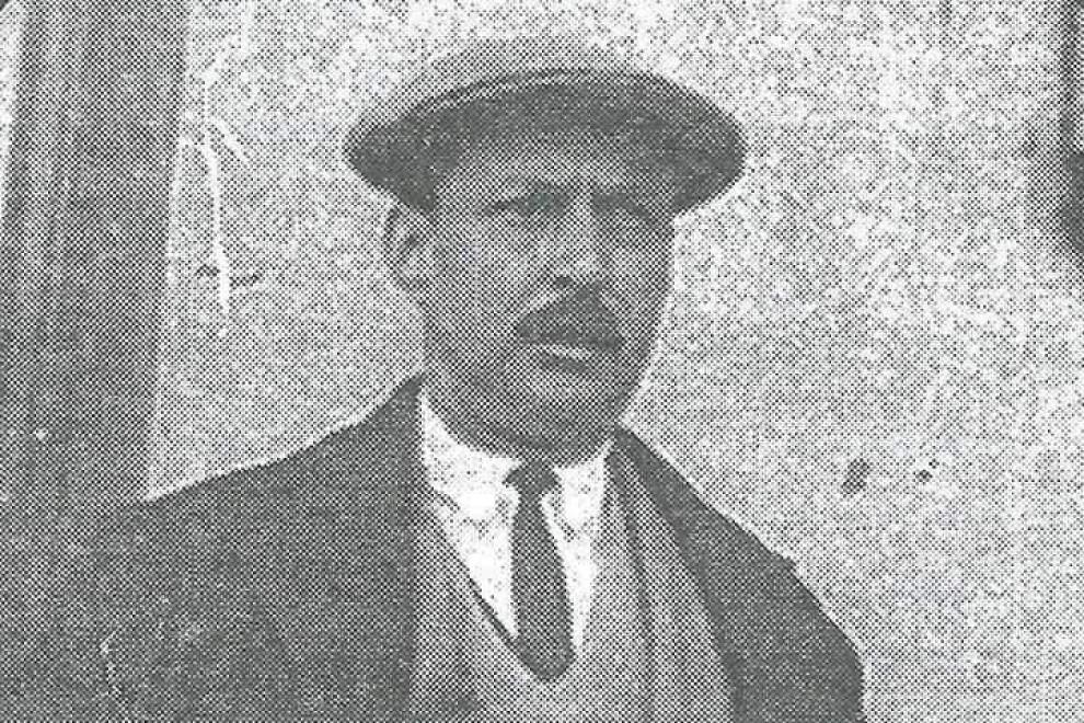 El abuelo de Marisa Elviro, Claudio Elviro, fusilado en Cáceres el día de Navidad de 1937.
