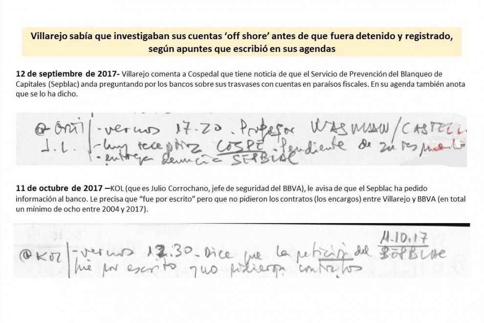 Villarejo avisado antes de su detención / Imagen: Público