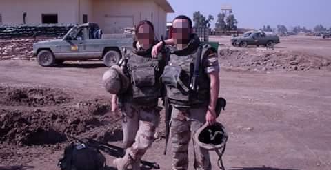 """""""Escoltar camiones de petróleo hacia la frontera, a eso nos dedicábamos en Irak"""""""
