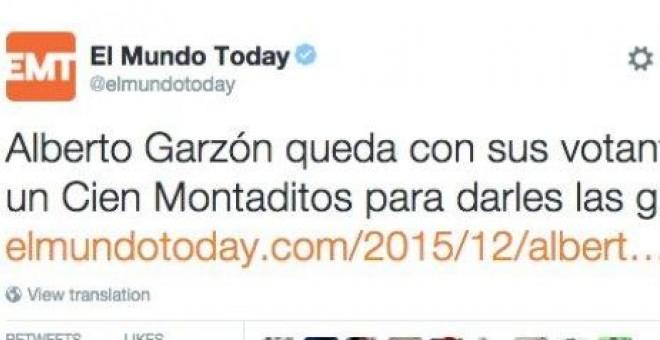 IU responde con mucho humor a una 'noticia' de 'El Mundo Today'