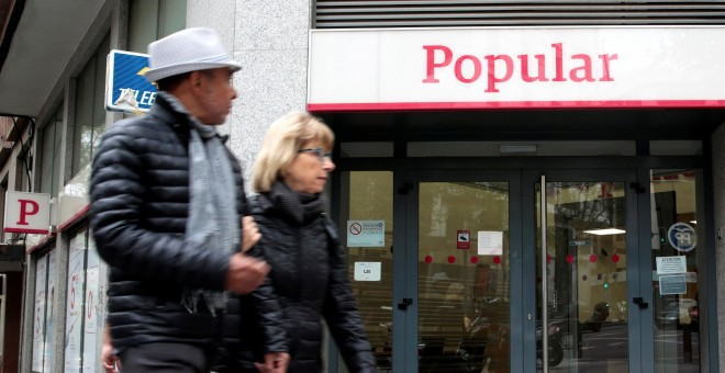 El banco popular gana el 2 6 m s hasta marzo por el for Oficinas banco popular madrid