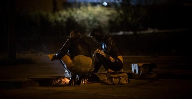 prostitutas de lujo madrid prostitutas obligadas