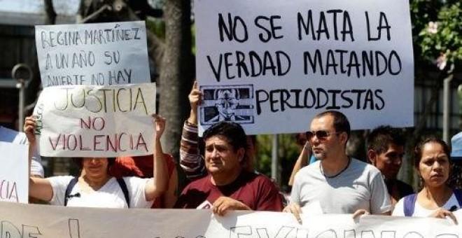 Manifestacin Por La Libertad De Prensa En Mxico EFE Archivo