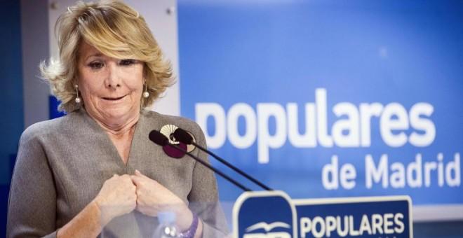 Esperanza Aguirre: 'No me parecería mal que el PP se abstuviera para que gobernara el PSOE'