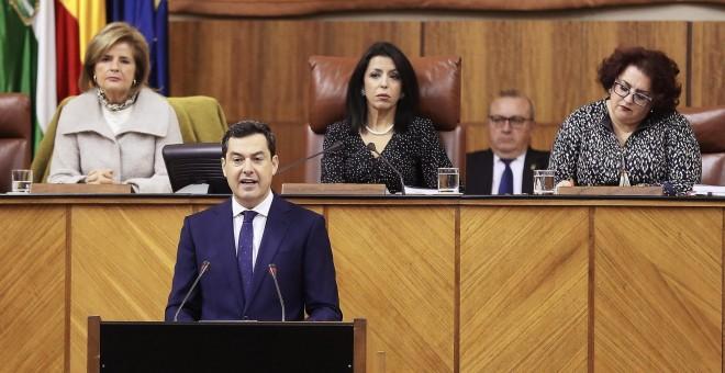 """Moreno apela al """"espíritu de la concordia"""" para una """"Transición"""" en Andalucía"""