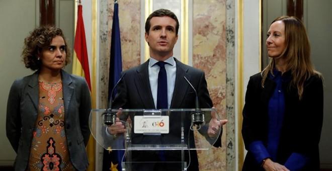 Resultado de imagen de Pablo Casado apuesta por un 'superdomingo' electoral