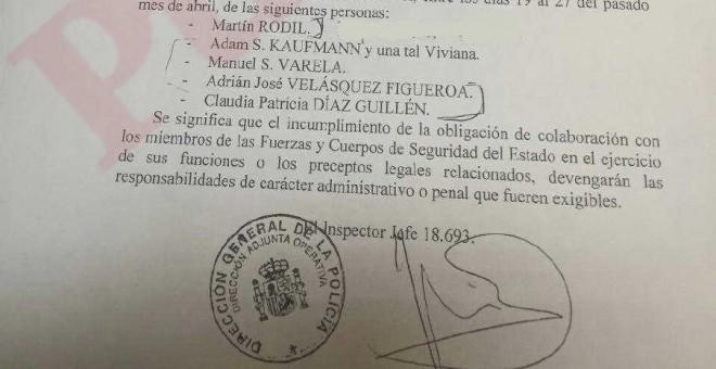 Diputados de Venezuela se querellan contra los testigos falsos 'antipodemos' de Villarejo