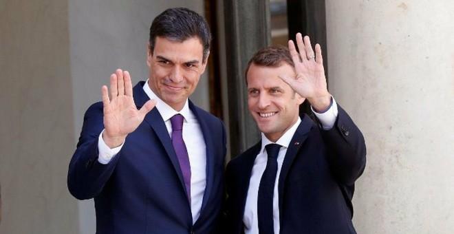 Reunión entre Pedro Sánchez y Emmanuel Macron: Encuentro sorpresa ...