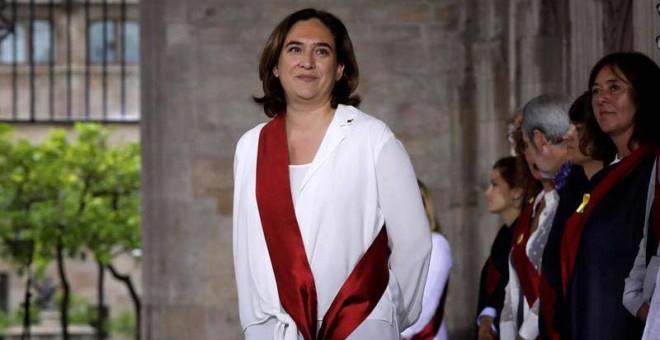Los desahucios en Barcelona bajan un 23% desde que está Colau de alcaldesa