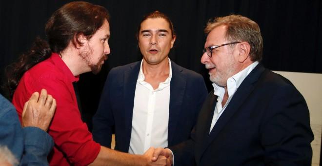 Iglesias y Cebrián, unidos contra Sánchez