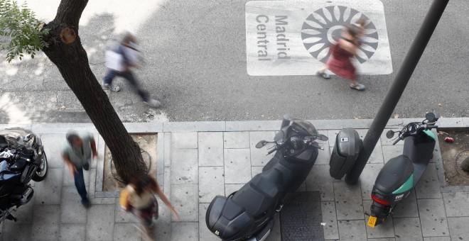 Apagón informativo de Almeida en los datos sobre contaminación y tráfico de Madrid Central