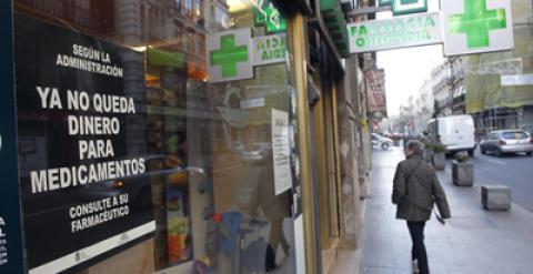 Cierre total de las farmacias valencianas por los impagos  ab1f512313a