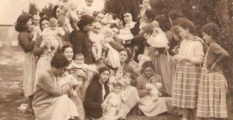 Imágen de Peñagrande en 1959, publicada en la web de antiguas internas