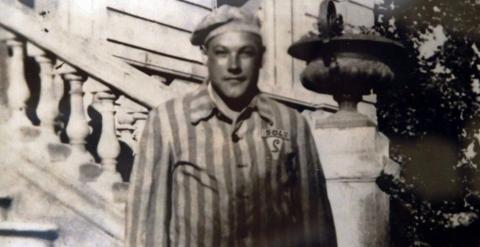 Esteban Pérez Pérez, bautizado con el número 5042 en Mauthausen. EFE