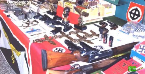 Armas incautadas en la operación Pánzer. Agencia REDLINE