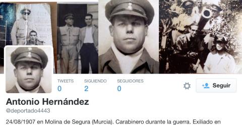 Perfil de Twitter de @deportado4443