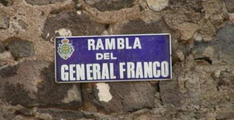 Rambla del general Franco