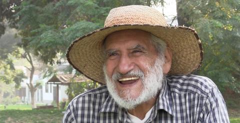 El líder del levantamiento campesino peruano Hugo Blanco.