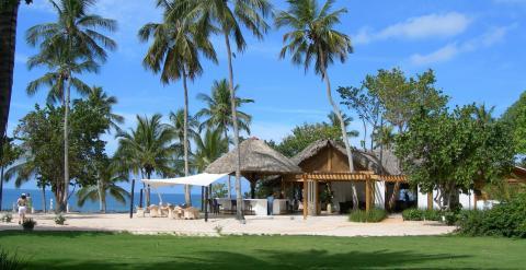 Uno de los edificios del complejo de lujo Casa de Campo, en República Dominicana.