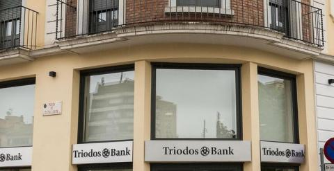 Una de las oficinas de Triodos Bank en España. / EUROPA PRESS
