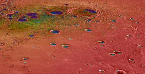 La superficie del planeta Mercurio, como nunca se había visto antes. /NASA