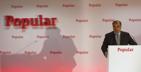 El presidente del Banco Popular, Ángel Ron. REUTERS