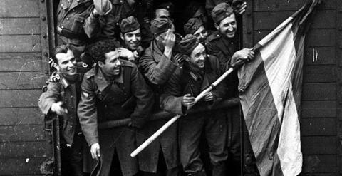 Españoles al servicio de la URSS en 1941.