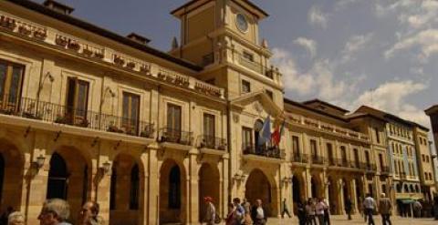 Imagen del Ayuntamiento de Oviedo. /EUROPAPRESS