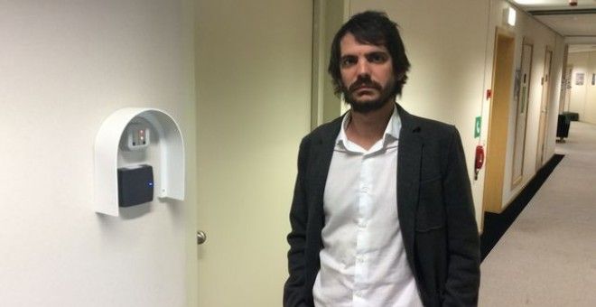 El eurodiputado de ICV Ernest Urtasun, en una imagen de archivo.