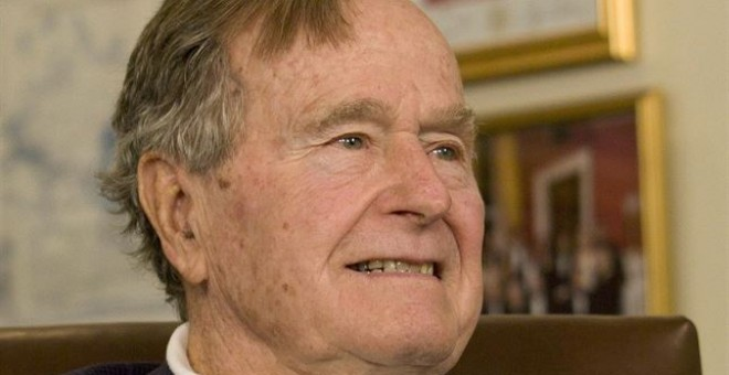 George H.W. Bush. /REUTERS
