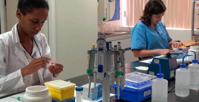 Centro de investigación cubano donde se analizan los resultados de la vacuna contra el cáncer de pulmón. RAQUEL PÉREZ