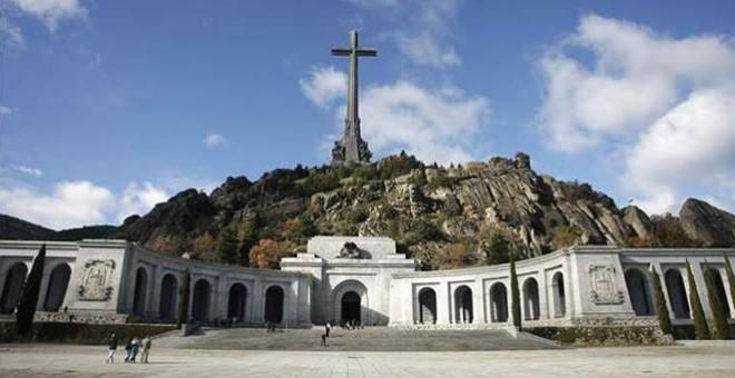 Una panorámica de El valle de los Caídos. / EFE