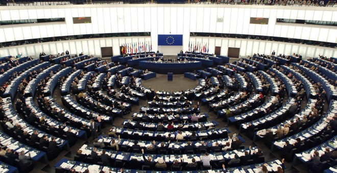Imagen de archivo del Parlamento Europeo.-