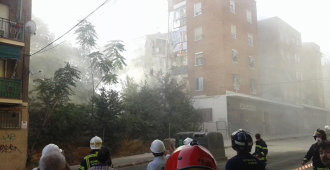 Foto Twitter: Emergencias Madrid