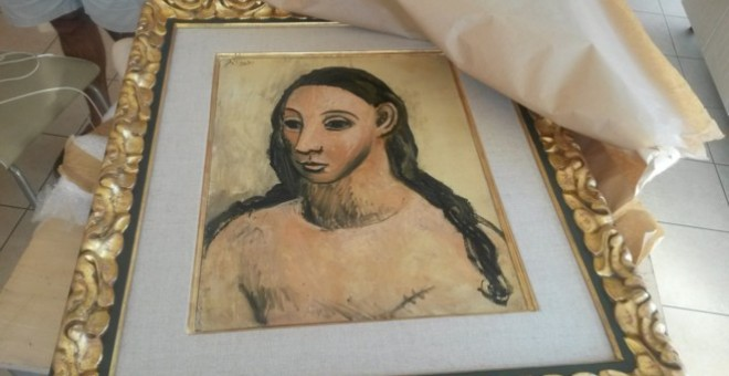 'Head of a Young Woman', un Picasso valorado en 25 millones de euros.