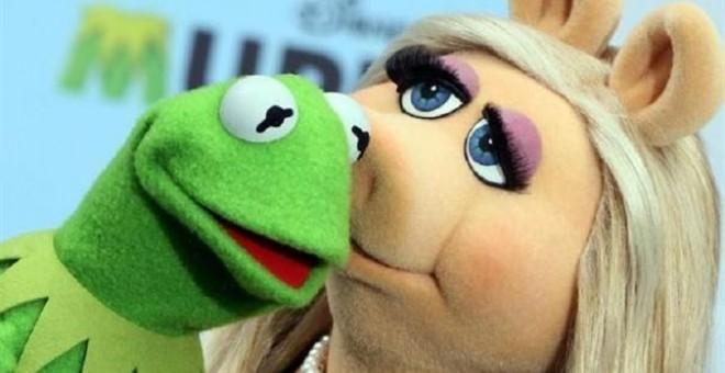 Miss Piggy y Kermit./ EUROPA PRESS