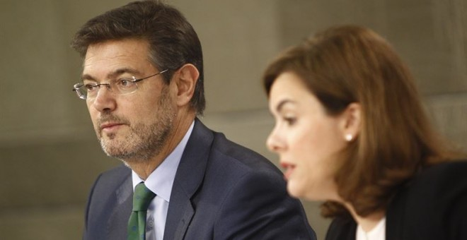 El ministro de Justicia, Rafael Catalá./ EUROPA PRESS