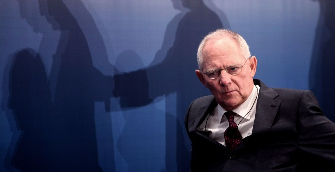 El ministro de finanzas alemán, Wolfgang Schäuble.- AFP