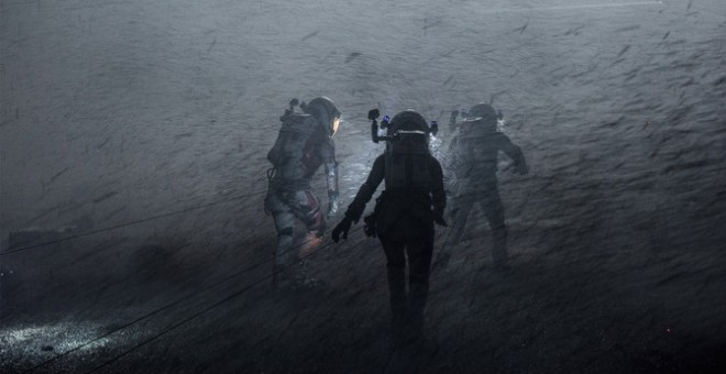 Gran tormenta de arena en 'The Martian'. / 20th Century Fox