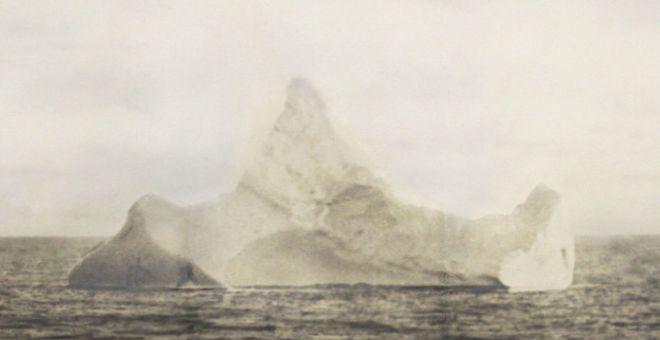 ¿Es este el iceberg que hundió al Titanic?