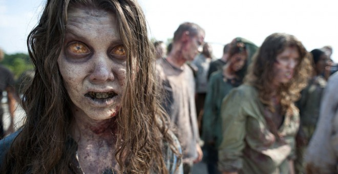 Fotograma de la serie estadounidense 'The Walking Dead'