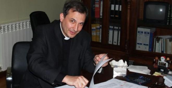 El sacerdote Lucio Vallejo Balda en una imagen de archivo