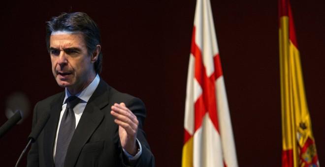 El ministro de Industria, José Manuel Soria, durante un acto en Barcelona, este miércoles. EFE/Alejandro García
